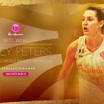 Euroleague féminine: Haley Peters (Charlevile) élue meilleure ailière par les fans