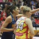 Demi-finale Eurocup féminine: +3 pour Montpellier avant le match retour en France