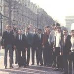 La photo: Les héros orthéziens vainqueurs de la Coupe Korac en 1984
