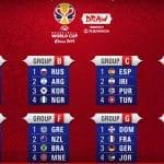 Coupe du Monde: La France avec l'Allemagne, la République Dominicaine et la Jordanie