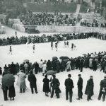 La photo rétro: Il y a 80 ans, la finale de la Coupe de France FSGT féminine aux Arènes de Lutèce