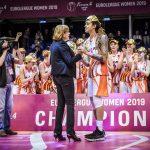 Euroleague féminine: Cinquième titre pour UMMC Ekaterinbourg, Brittner Griner élue MVP