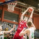 """Interview Marko Pecarski, MVP de l'Euro U18 : """"Peut-être que je vais venir en université l'année prochaine…"""""""