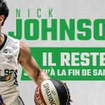 Nanterre: Le meneur Nick Johnson prolongé jusqu'à la fin de saison