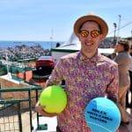 La photo: Paul Lacombe en touriste au Masters de Monaco