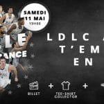 Finale coupe de France : l'ASVEL propose à ses supporters de suivre leur équipe pour 59€