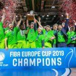 Le Dinamo Sassari vainqueur de la FIBA Europe Cup