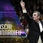 Trophées du basket : Pascal Donnadieu élu meilleur entraîneur de Jeep®ÉLITE