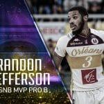 Trophées du basket : le cinq majeur de la saison de Pro B, Brandon Jefferson élu MVP