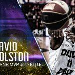 Trophées du basket : le cinq majeur de la saison de Jeep® ÉLITE, David Holston élu MVP !
