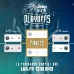 Jeep Elite: Le tableau et la programmation des Playoffs