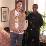 La photo: Evan Fournier et Lahaou Konate au temps de l'adolescence