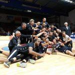 Roanne : les champions de France fêtent leur retour en Jeep Elite avec leurs supporters