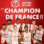 Espoirs : Cholet champion de France à trois journées de la fin de la saison !
