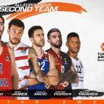 Euroleague : Nando De Colo et Vincent Poirier élus dans le deuxième cinq de la saison