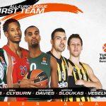 Euroleague : le cinq majeur de la saison
