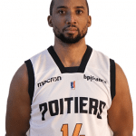 Pro B: Touché au tendon d'Achille, J.R. Reynolds (Poitiers) est forfait jusqu'à la fin de la saison