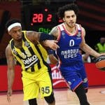 Euroleague: Shane Larkin (Efes Istanbul) défavorable à une reprise