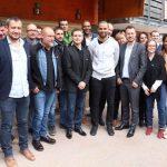 Nicolas Batum et Marie-Sophie Obama font des affaires avec Tony Parker à Villard-de-Lans