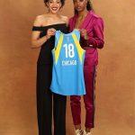 Gabby Williams (Lattes-Montpellier), une proche de Kobe et Gigi Bryant