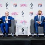 L'ASVEL et l'Olympique Lyonnais officialisent leur partenariat et la construction d'une aréna