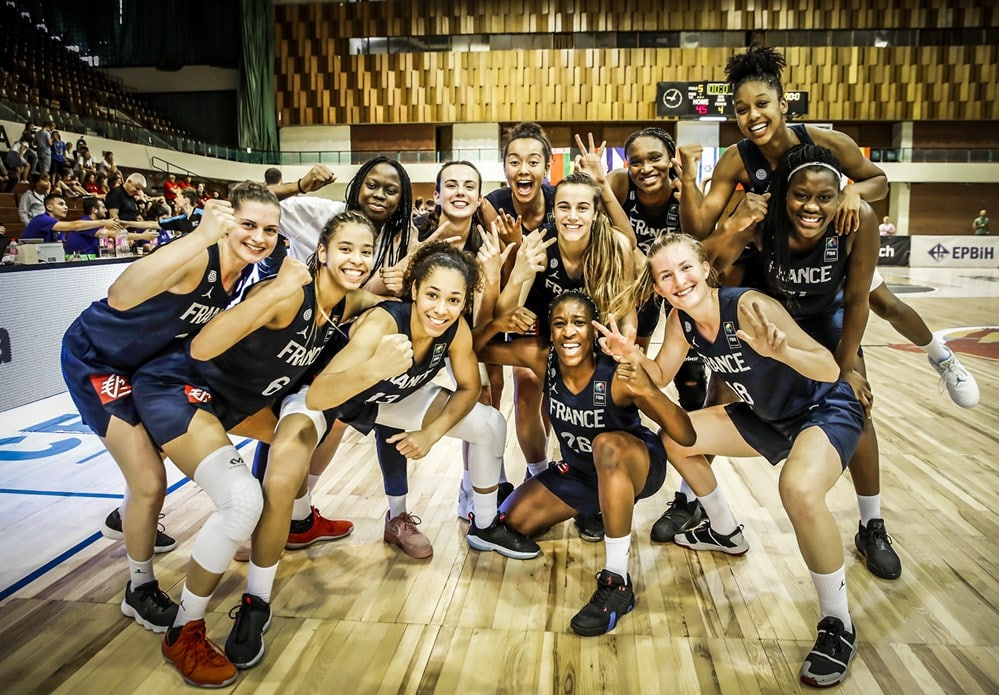 Féminines: La France 5e au ranking mondial | Basket Europe
