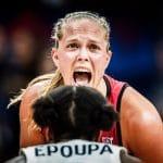 """Julie Allemand (ASVEL) : """"je ne suis pas encore prête pour aller en WNBA"""""""