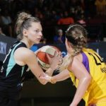 WNBA – Marine Johannès (17 points) enflamme New York
