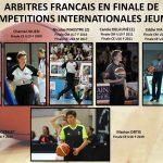 Marion Ortis, 8e arbitre français à officier lors d'une finale européenne de jeune