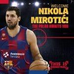 Espagne: Nikola Mirotic aurait eu une offre de 45M$ des Chicago Bulls