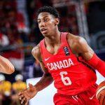 Canada: RJ Barrett forfait pour la Coupe du monde