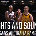 La vidéo: Les images inside de Australie vs. Etats-Unis