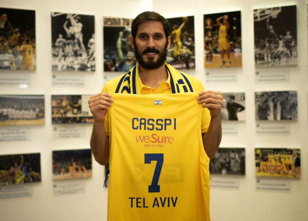 Après 10 ans en NBA, Omri Casspi retourne au Maccabi Tel-Aviv