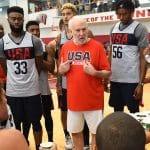 "Gregg Popovich (coach Team USA): ""La camaraderie s'est vraiment épanouie"""