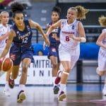 Euro U16 féminin: les Bleuettes sans pitié pour le Danemark, 97-29