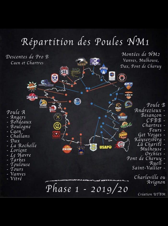 Calendrier Federale 2 2020 2019.Les Calendriers De Nm1 Et Nm2 Devoiles Basket Europe
