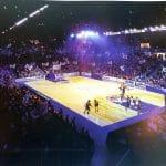 La vidéo: L'Arena Futuroscope pour le Poitiers Basket 86 en décembre 2021