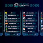 Basketball Champions League: Les 32 équipes sont connues