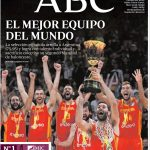 Espagne: Le triomphe des basketteurs fait la Une de tous les journaux… Impressionnant !