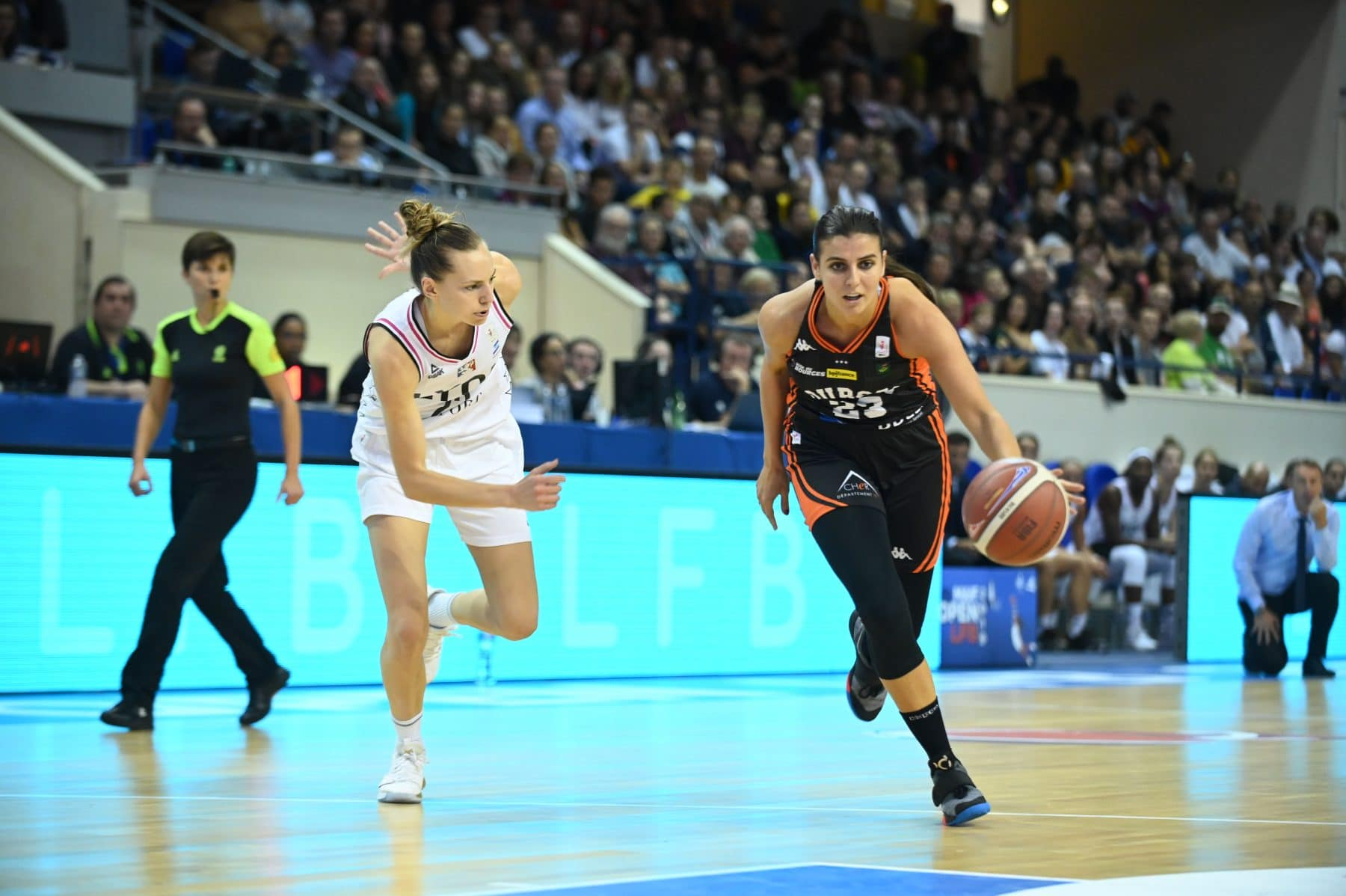 "Ana Dabovic (Bourges): ""J'aime la mentalité française"" - BasketEurope.com"