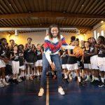 """LFB: Diandra Tchatchouang (Montpellier) et les exercices physiques: """"attention aux réseaux sociaux !"""""""