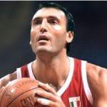 Italie: Milan va retirer le maillot n°11 de Dino Meneghin