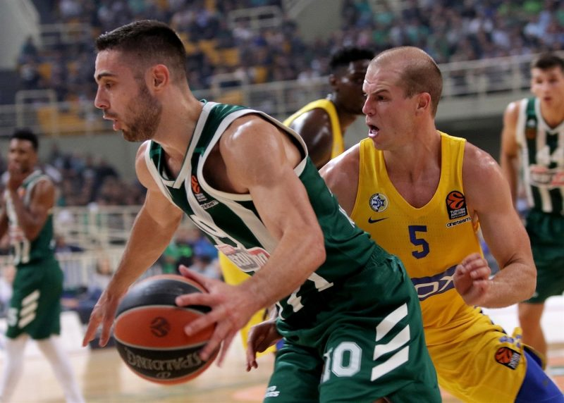 """Ioannis Papapetrou (Panathinaikos): """"Villeurbanne veut prouver des choses surtout à domicile"""""""