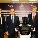 Un robot au club de Perm pour servir d'assistant-coach !