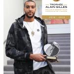 Rudy Gobert remporte le Trophée Alain Gilles 2019