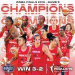 WNBA: Kim Mestdagh (Charleville) couronnée avec les Washington Mystics, Emma Meesseman MVP des Finals