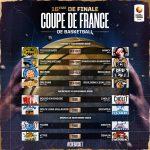 Coupe de France: Boulazac, Boulogne-Levallois, Châlons-Reims et Nancy en 8e de finale