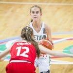 Lituanie: La néo-Villeurbannaise Juste Jocyte est le basketteur le plus populaire du pays !