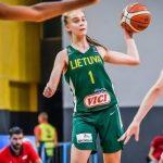 Féminines: Le phénomène lituanien Juste Jocyte, 14 ans, a signé à l'ASVEL !