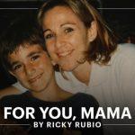 Le poignant récit de Ricky Rubio sur le décès de sa mère